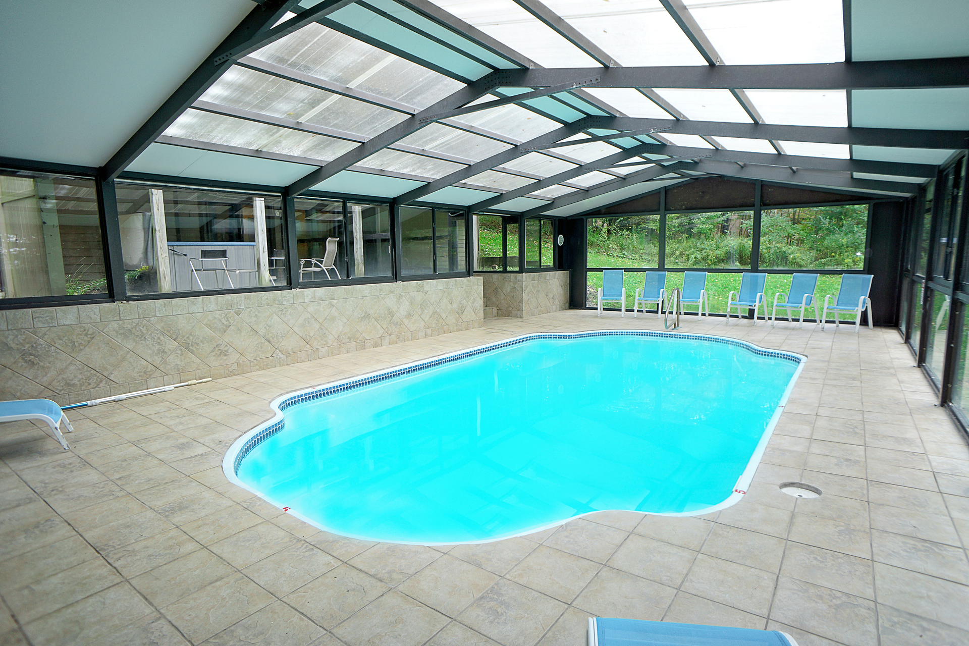Railey mountains lake vacations indoor luxury heated pool in deep creep lake