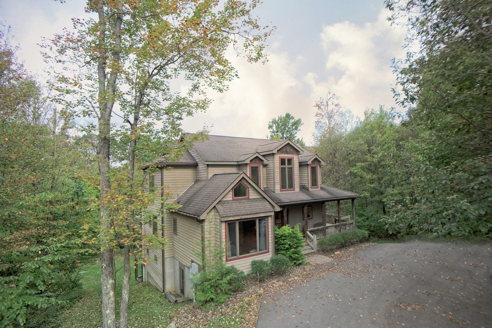 luxury deep creek vacation rentals exterior home
