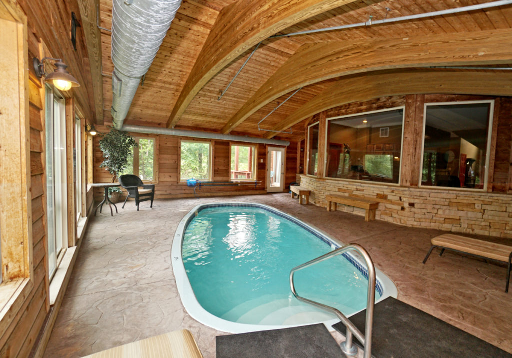 Private Indoor Pool Deep Creek Lake Rental Deep Creek