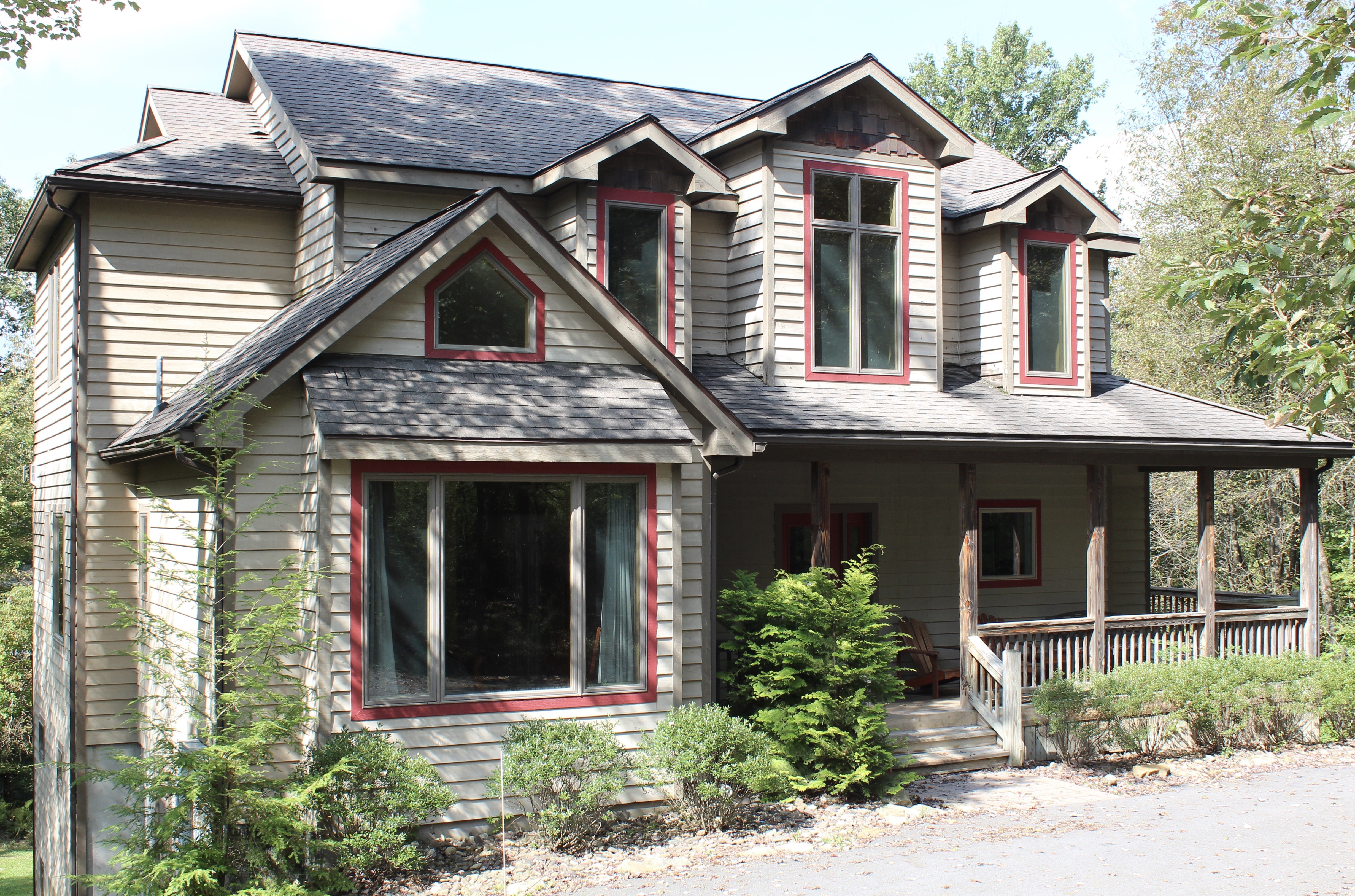 deep creek lake vacation rentals exterior house