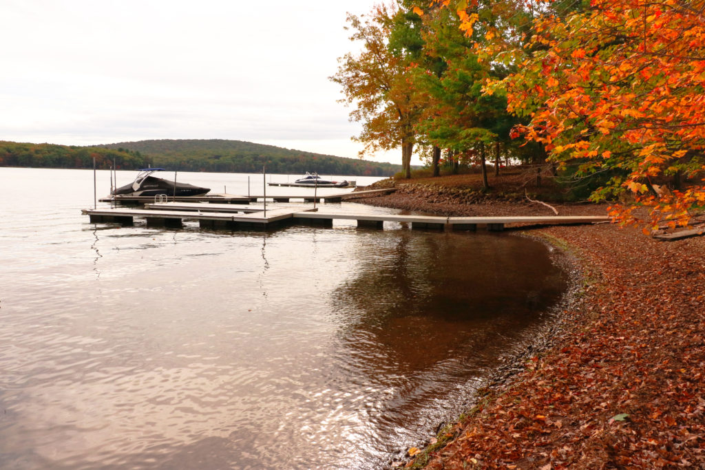 Deep Creek Lake Vacation Rentals Autumn Lake Dock Deep