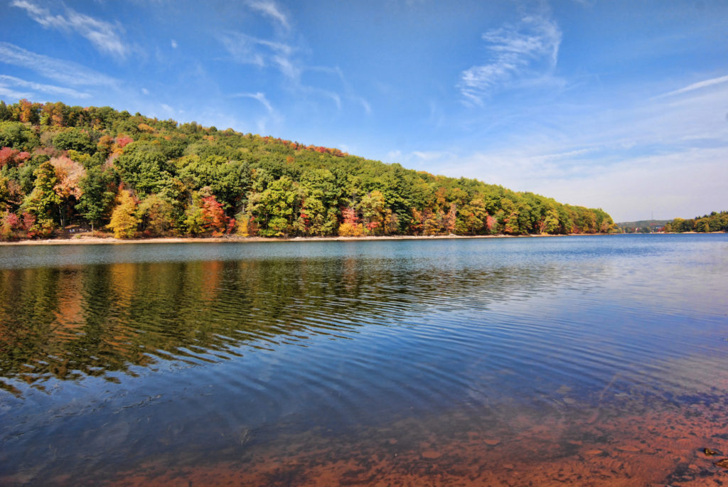 Deep Creek Lake Rentals Colorful Lake Landscape Deep