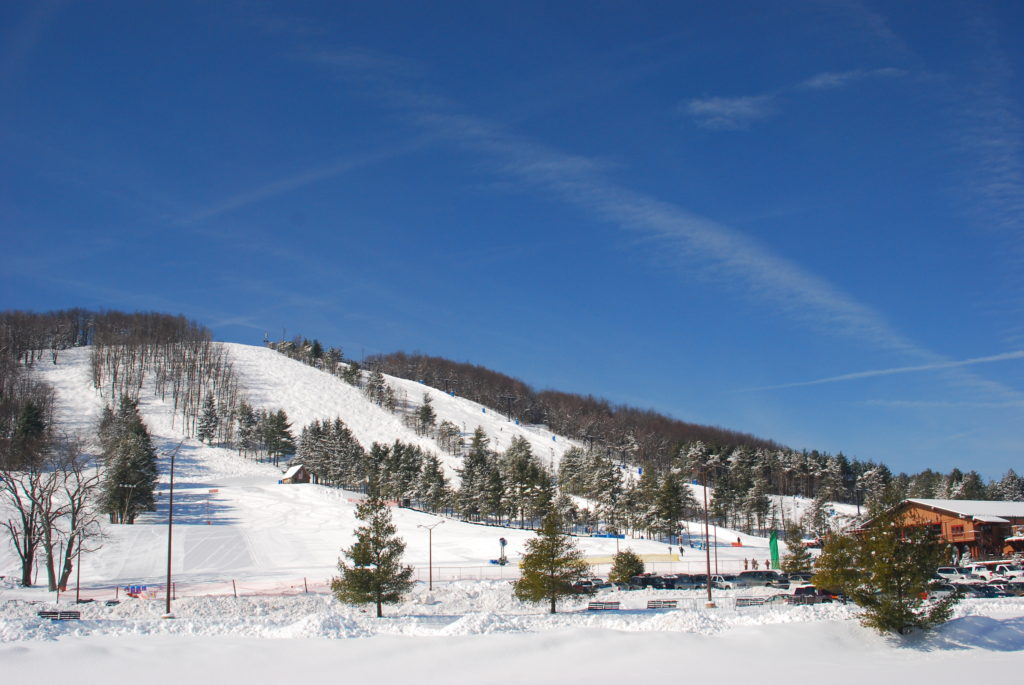 Deep Creek Lake Ski Slopes Winter Deep Creek Lake