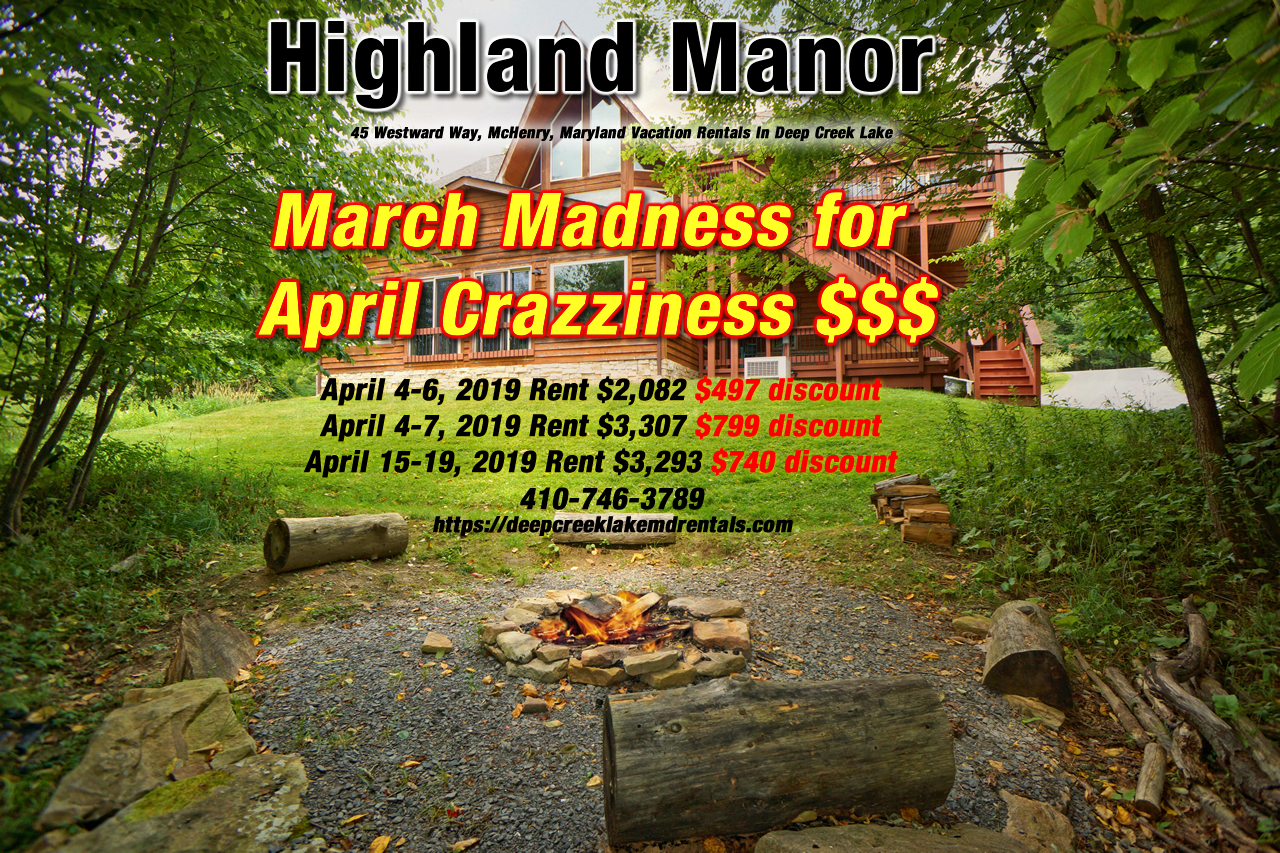 deep-creek-lake-house-rentals-march-madness-sale-april