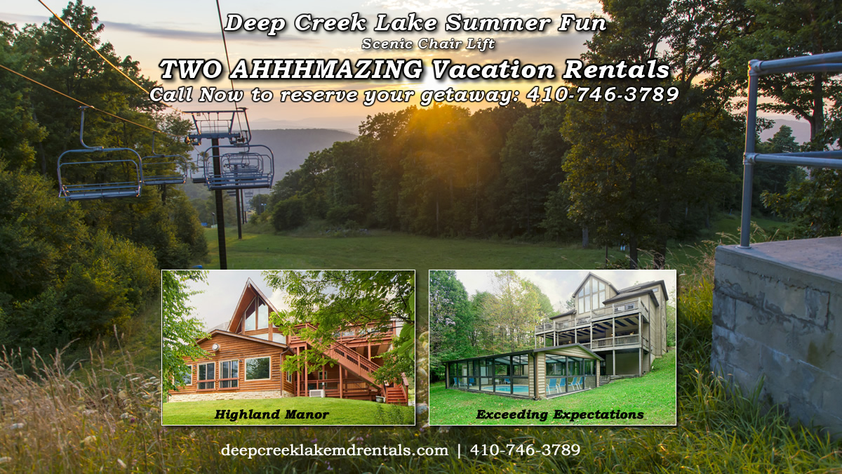 Deep Creek Lake Summer Activities