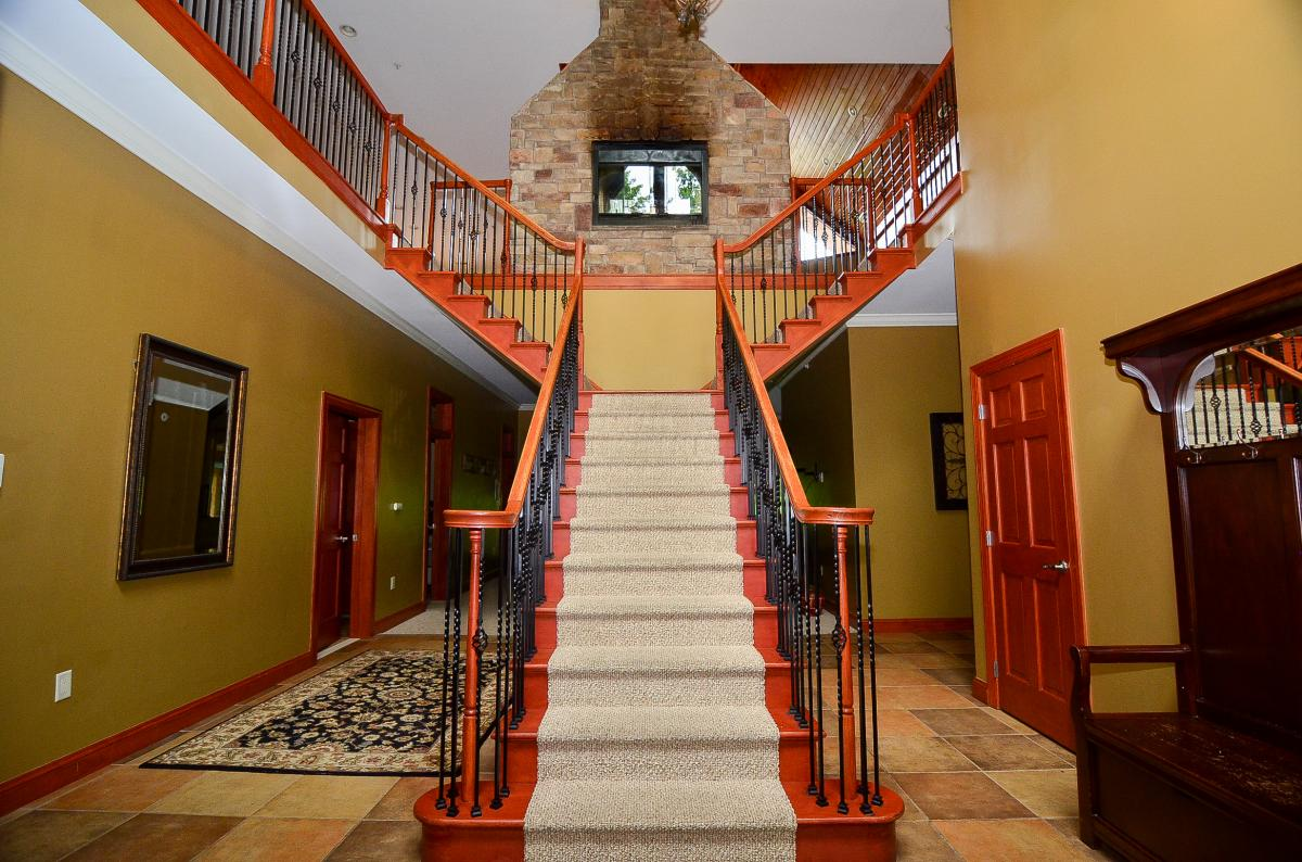 entrance staircase