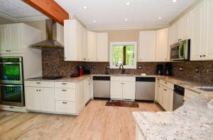 newly remodeled kitchen-double oven and, 2 sinks and 2 dishwashers